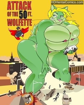 Attack-Of-The-50ft-Wolfette-1001 free sex comic