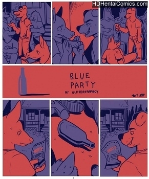 Blue Party hentai comics porn