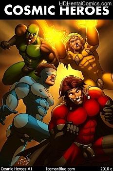 Cosmic Heroes 1 porn comic