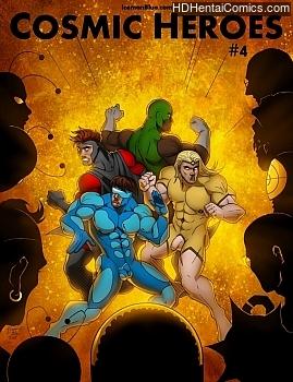 Cosmic Heroes 4 porn comic