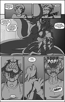 Digimon & Dongles porn comic
