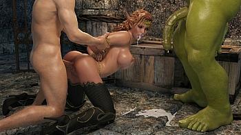Elven Desire – Prison Perils 2 porn comic