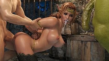 Elven-Desire-Prison-Perils-2002 free sex comic