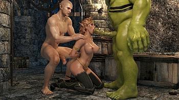 Elven-Desire-Prison-Perils-2010 free sex comic