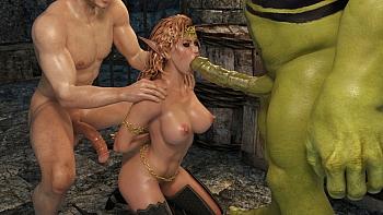 Elven-Desire-Prison-Perils-2011 free sex comic