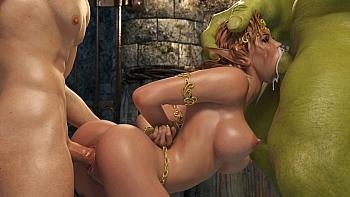Elven-Desire-Prison-Perils-2034 free sex comic