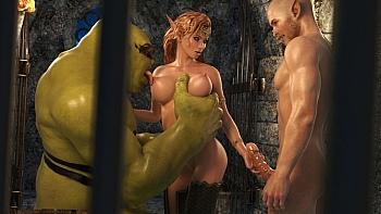 Elven-Desire-Prison-Perils-2049 free sex comic