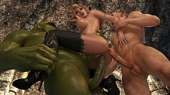 Elven-Desire-Prison-Perils-2055 free sex comic