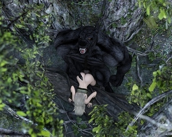 Fantasy Scene - Elf With Wolfman 009 top hentais free