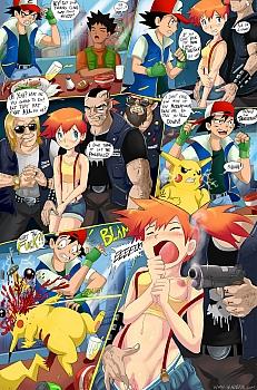 Fuckemon-Misty-Gets-Wet003 hentai porn comics