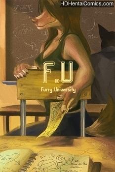 Furry U hentai comics porn
