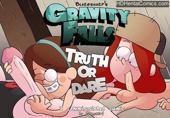 Gravity Falls – Truth Or Dare free porn comic