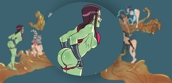 Groot And Avatar Girls 002 top hentais free