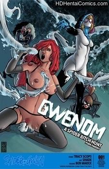 Gwenom free porn comic