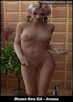 Home Sex Ed – Jenna porn comic