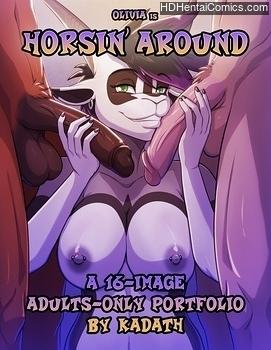 Horsin' Around porn hentai comics