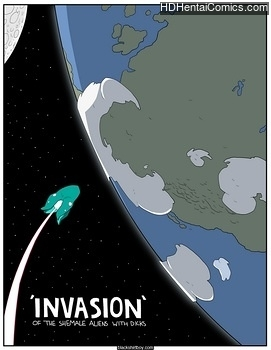 Invasion free porn comic