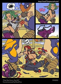 Jak-X-Flut-Slut-Farm-2003 free sex comic