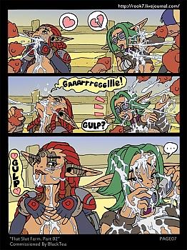 Jak-X-Flut-Slut-Farm-2008 free sex comic