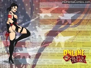 JLA porn comic