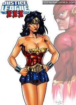 Justice League XXX free porn comic