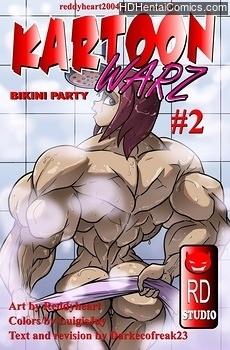 Kartoon Warz 2 – Bikini Party free porn comic