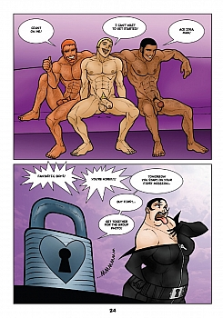 Keys 1 – Contact porn comic