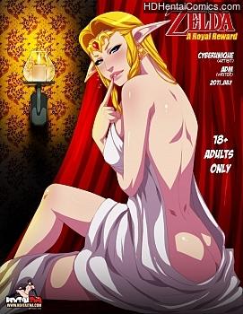Legend Of Zelda – A Royal Reward porn comic