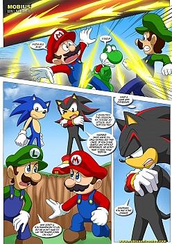 Mario-and-Sonic024 free sex comic