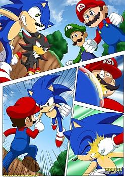 Mario-and-Sonic025 free sex comic