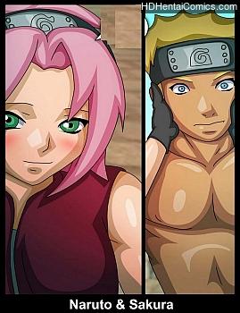 Naruto & Sakura free porn comic
