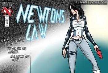 Newtons Law hentai comics porn