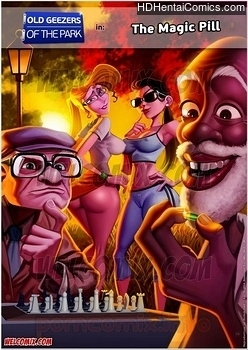 Old Geezers Of The Park 1 – The Magic Pill hentai comics porn