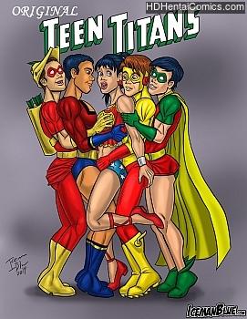 Original Teen Titans free porn comic