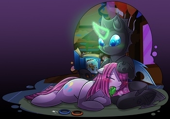 Pinkamena X Changeling 022 top hentais free