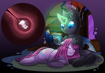 Pinkamena X Changeling 026 top hentais free