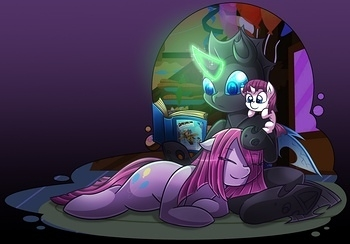 Pinkamena X Changeling 030 top hentais free