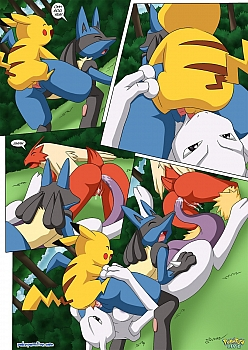 Pokemon-Female-Squad009 free sex comic