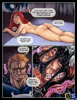 Power-Girl-vs-Venom003 free sex comic