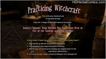 Practicing Witchcraft free porn comic