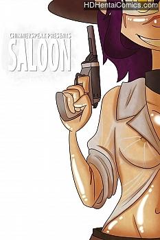 Saloon free porn comic