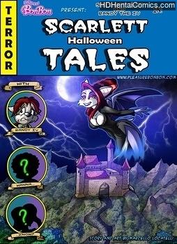 Scarlett Halloween Tales hentai comics porn