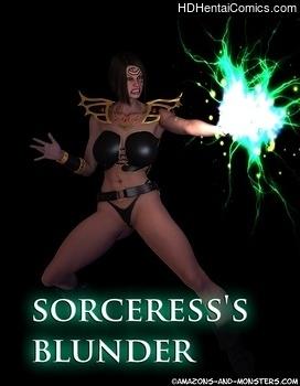 Sorceress's Blunder free porn comic