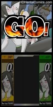 Super Sexual Battle Mirror Match 2 – Player 3 VS Player 4 hentai comics porn