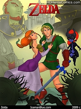 The Legend Of Zelda free porn comic