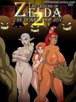 The Legend Of Zelda – The Ocarina Of Joy 2 porn comic
