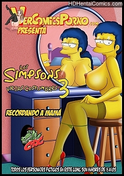 The Simpsons 3 – Remembering Mom porn comic