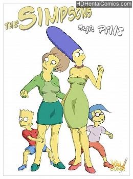 The Simpsons - Magic Pills 001 top hentais free