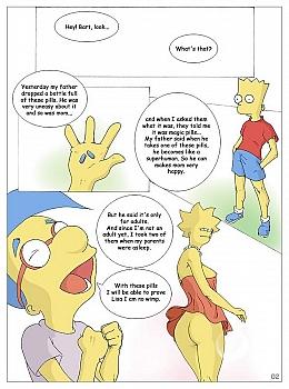 The Simpsons - Magic Pills 002 top hentais free