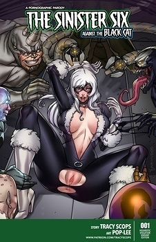The Sinister Sex Against The Black Cat hentai comics porn